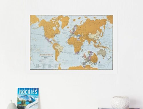 Valentine's Day Map Gifts for Long Distance Relationships