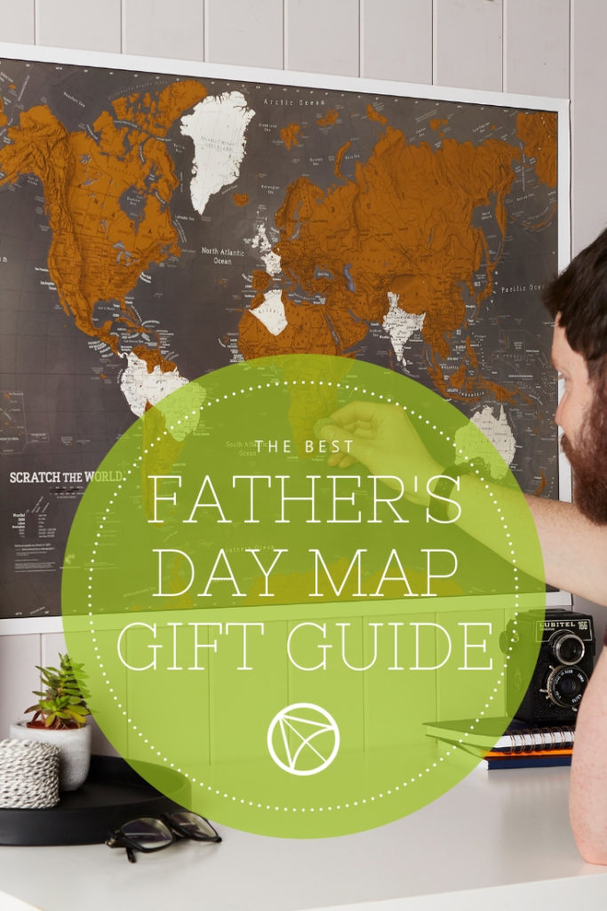 Father's day map gift guide