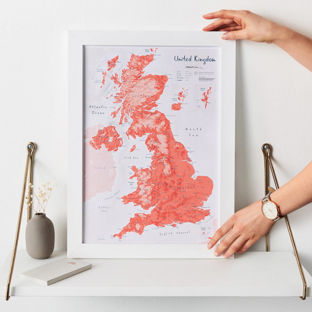 Uk as Art Map Gravlax