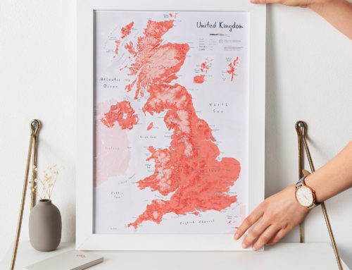 The Ultimate Fathers Day Map Gift Guide
