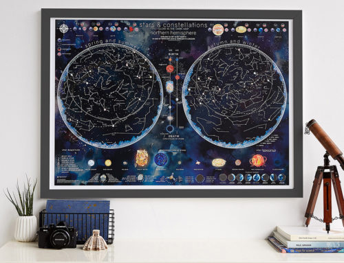 Introducing the Stars and Constellation Glow Map
