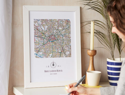 We Love the UK – Personalised maps celebrating the place we call home