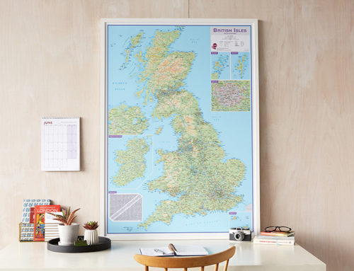 Why a British Isles Routeplanning Map is perfect for when lockdown eases
