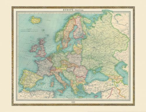 The five people in your life who would love a vintage world map