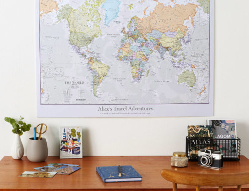 Sort your Father's Day shopping with a personalised map gift!
