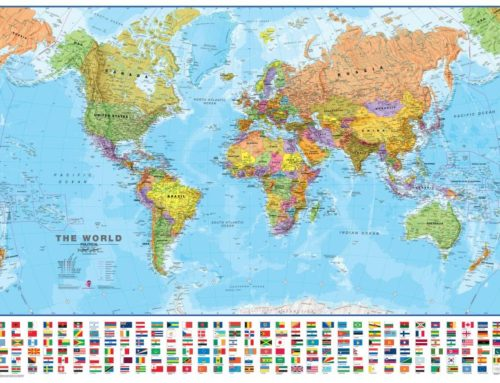 How to Personalise a Laminated World Map in your Home