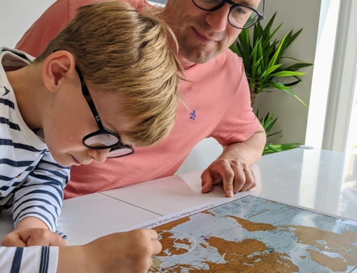 Why maps make perfect Father's Day gifts