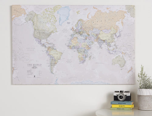 Three Questions to help you Choose the Right Canvas World Map for your Home