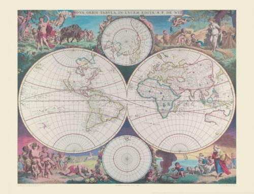How Vintage World Maps can help you create the perfect contrast between old and new