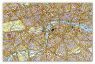 Medium A-Z Canvas London Street Map (Canvas)