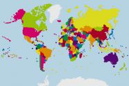Building Blocks Map of the World