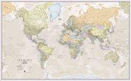 Huge Classic World Map (Paper)