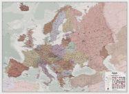 Executive Europe Wall Map Political