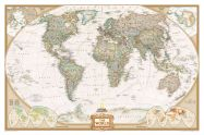 National Geographic World Executive Map (Paper)