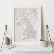 UK as Art Map - Lead