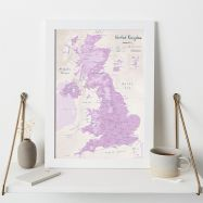 UK as Art Map - Thistle