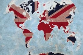 Best of British Map of the World