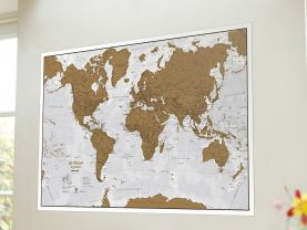Scratch the World® - French Language (Silk Art Paper - Pack of 2)