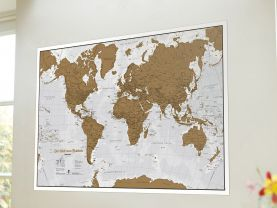 Scratch the World® - German Language (Silk Art Paper - Pack of 2)