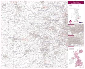 Reading Postcode Sector Map