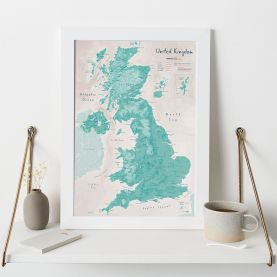 UK as Art Map - Tarragon