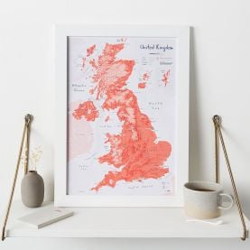 UK as Art Map - Gravlax