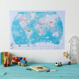 Doodle World Map