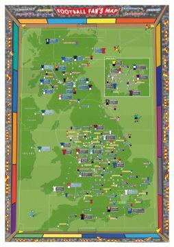 Football Fan's Stadium Map