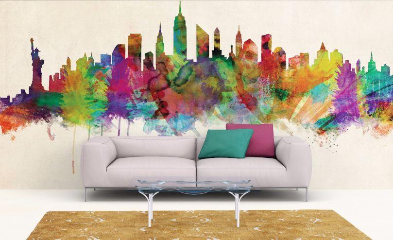 Wallpaper New York City Skyline