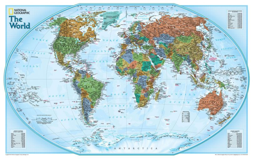 National Geographic World Explorer Map (Paper)