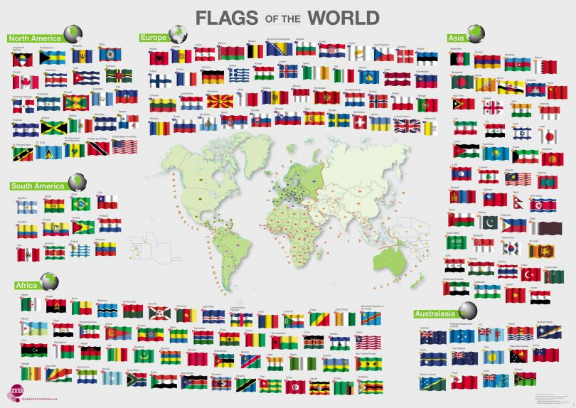 Flags of the World poster (Paper)