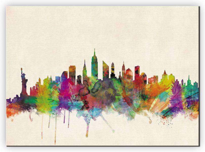 Medium New York City Skyline (Canvas)