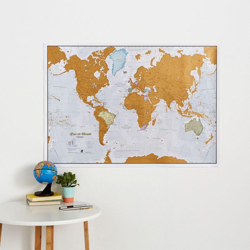 Scratch the World® - Dutch Language (Silk Art Paper - Pack of 2)