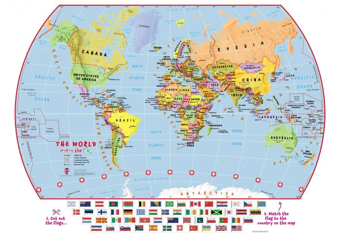 The Flags World Map