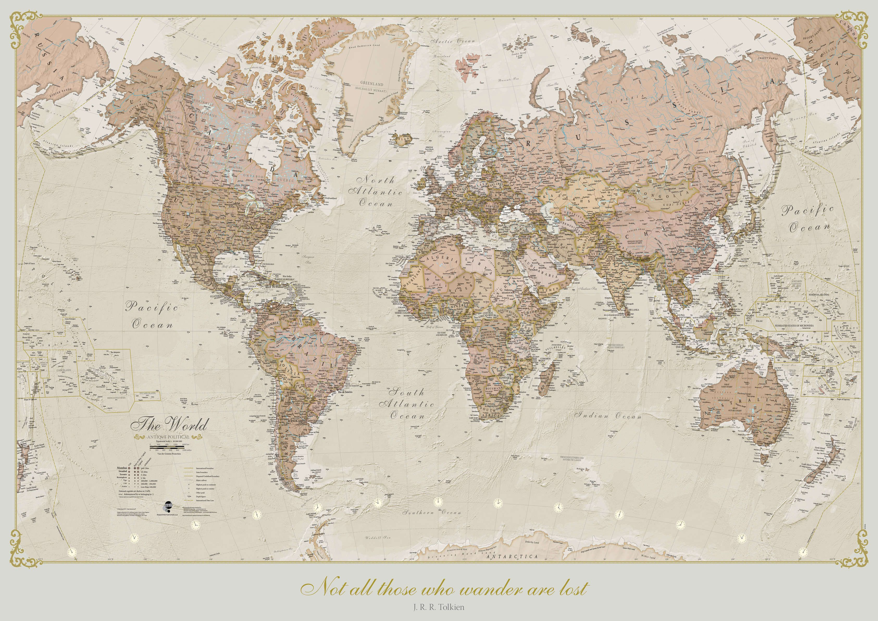 Personalised antique world map gumiabroncs Image collections