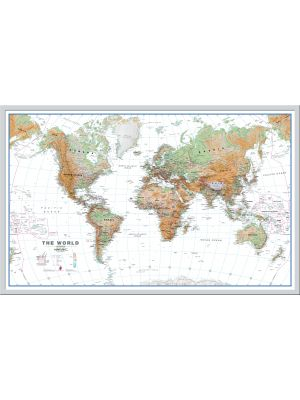 Framed Wall Maps  Buy online from Maps International