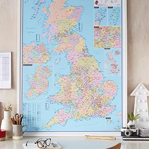 British Isles Wall Maps