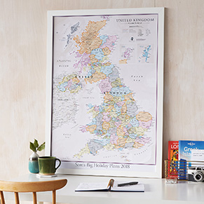 Country Wall Maps