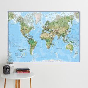 Environmental World Maps