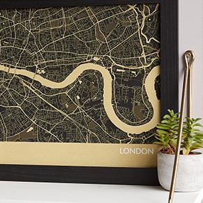 London Wall Maps