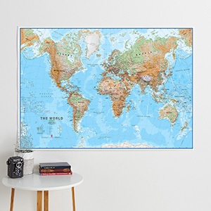 Physical Wall Maps