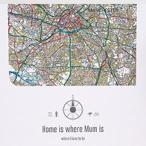 Postcode Wall Maps