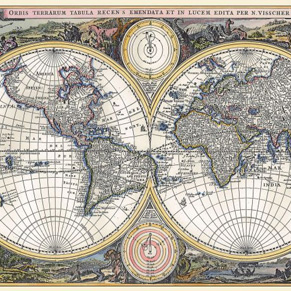Vintage World Maps