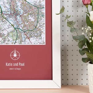 Map Gifts for Her